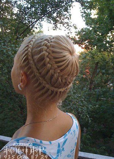 dạy bới tết tóc cô dâu cơ bản nâng cao KORIGAMI KUANSAIGON (61)